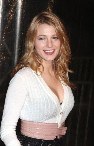 Blake Lively at 'Australia' New York City Premiere at Ziegfeld Theatre, New York City, NY, USA