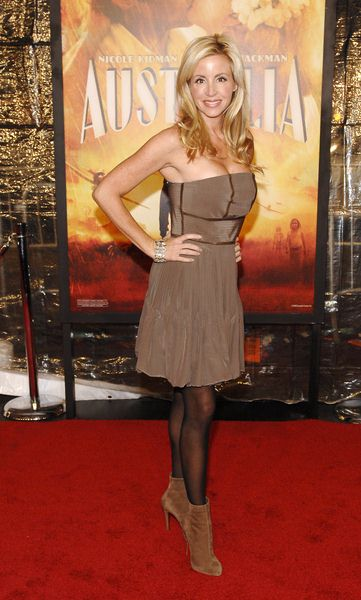 Camille Grammer at 'Australia' New York City Premiere at Ziegfeld Theatre, New York City, NY, USA