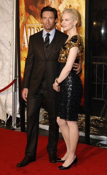 Hugh Jackman, Nicole Kidman at 'Australia' New York City Premiere at Ziegfeld Theatre, New York City, NY, USA