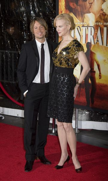 Keith Urban, Nicole Kidman at 'Australia' New York City Premiere at Ziegfeld Theatre, New York City, NY, USA