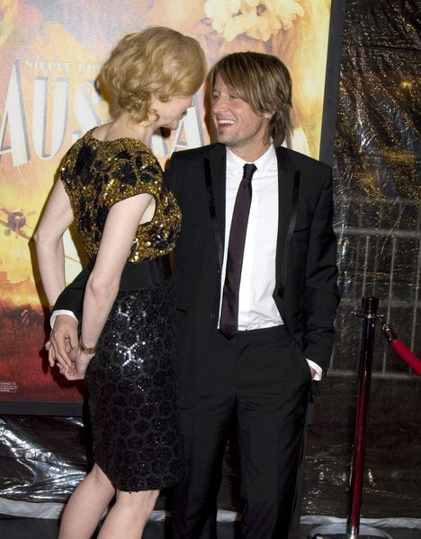 Nicole Kidman, Keith Urban at 'Australia' New York City Premiere at Ziegfeld Theatre, New York City, NY, USA