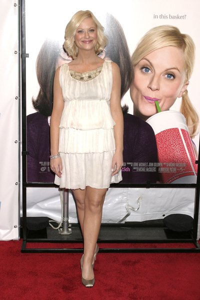 Amy Poehler at 'Baby Mama' New York City Premiere - Arrivals - Ziegfeld Theatre. New York City, NY, USA