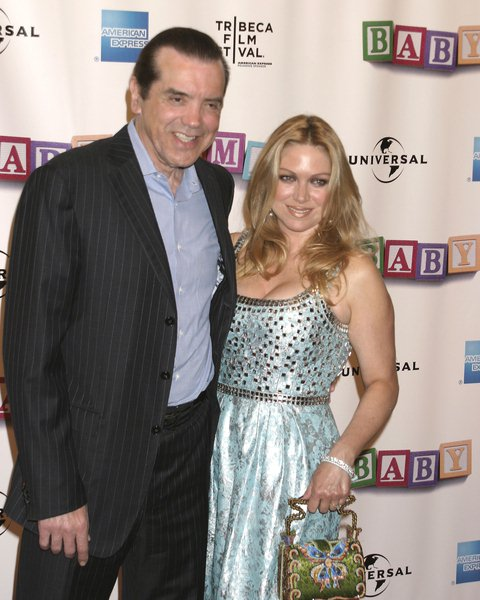 Chazz Palminteri, Gianna Ranaudo(wife) at 'Baby Mama' New York City Premiere - Arrivals - Ziegfeld Theatre. New York City, NY, USA