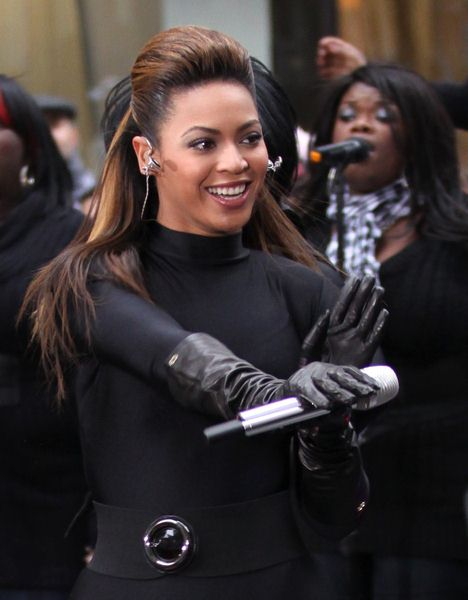 Beyonce Knowles at Beyonce Knowles in Concert on NBC's 'Today Show' at Rockefeller Center, New York City, NY, USA