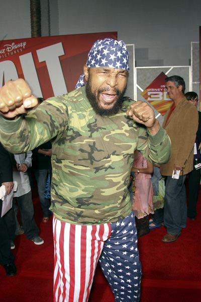 Mr. T at 'Bolt' World Premiere at El Capitan Theatre in Hollywood, CA, USA