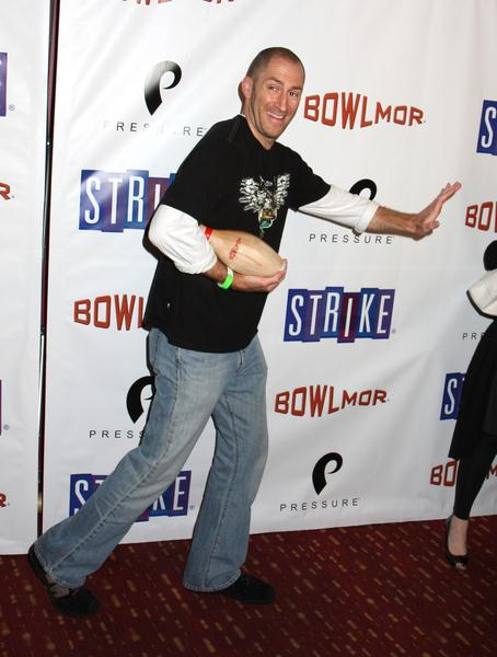 Ben Bailey (Cash Cab) at Bowlmar Lanes 70th Anniversary Party - Arrivals at Bowlmar Lanes, New York City, NY, USA