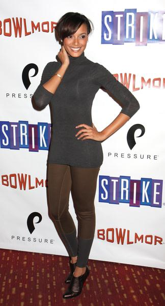 Selita Ebanks at Bowlmar Lanes 70th Anniversary Party - Arrivals at Bowlmar Lanes, New York City, NY, USA