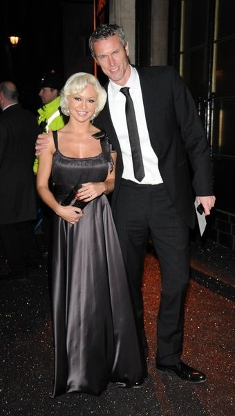 Kristina Rihanoff, Mark Foster at British Fashion Awards 2008 at Royal Horticultural Hall, London, UK