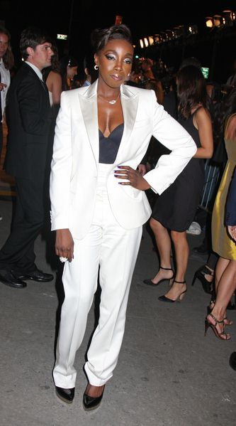 Estelle at Calvin Klein 40th Anniversary Celebration - High Line, New York City, NY, USA
