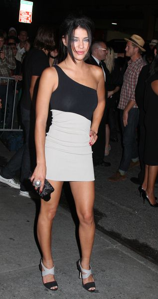 Jessica Szohr at Calvin Klein 40th Anniversary Celebration - High Line, New York City, NY, USA