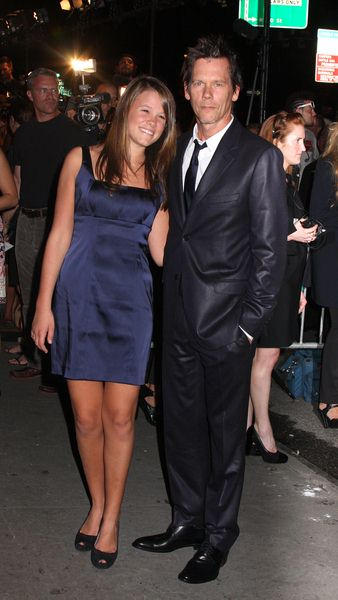 Sosie Ruth Bacon, Kevin Bacon at Calvin Klein 40th Anniversary Celebration - High Line, New York City, NY, USA