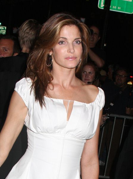Stephanie Seymour at Calvin Klein 40th Anniversary Celebration - High Line, New York City, NY, USA