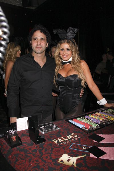 George Maloof, Carmen Electra at Carmen Electra at The Playboy Club at the Palms Hotel and Casino Resort in Las Vegas, NV, USA