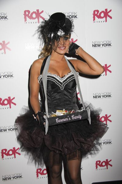 Carmen Electra at Carmen Electra Vamps it Up at Rok Vegas at the New York New York Hotel and Casino, Las Vegas, NV, USA