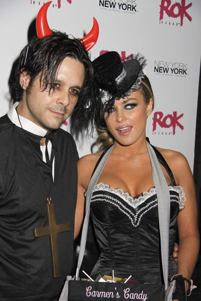 Rob Patterson, Carmen Electra at Carmen Electra Vamps it Up at Rok Vegas at the New York New York Hotel and Casino, Las Vegas, NV, USA