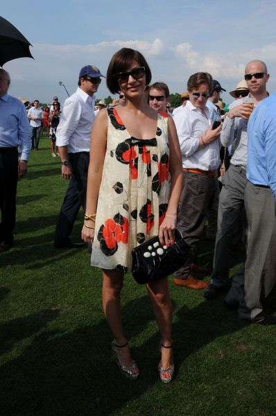 Natalie Imbruglia at Cartier International Polo 2008 Tournament - Guards Polo Club, Windsor Great Park, England