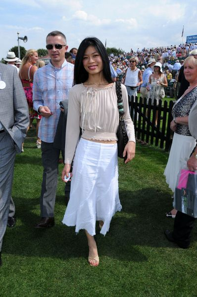 Vanessa Mae at Cartier International Polo 2008 Tournament - Guards Polo Club, Windsor Great Park, England