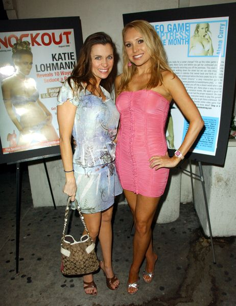 Alicia Arden, Alana Curry at Celebration for the August Issue of Knockout Magazine at Holly's West, Santa Monica, CA. USA