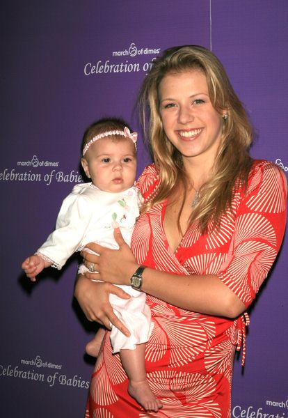 Jodie Sweetin, Zoie (daughter) at Celebration of Babies to Benefit the March of Dimes at Beverly Hills Hilton, Beverly Hills