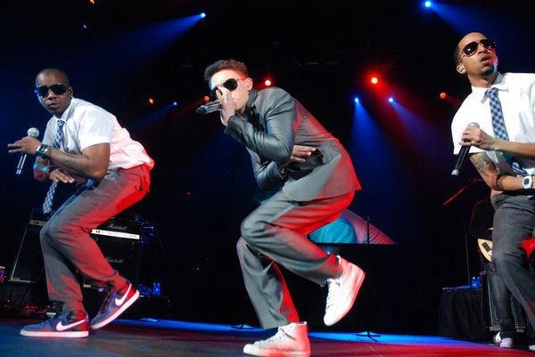 Jesse McCartney at Chicago's B96 Jingle Bash 2008 at Allstate Arena, Rosemont, IL, USA