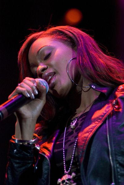 Shontelle Layne at Chicago's B96 Jingle Bash 2008 at Allstate Arena, Rosemont, IL, USA