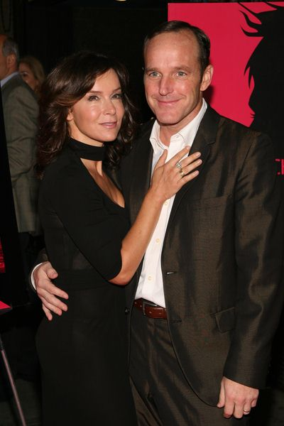 Jennifer Grey, Clark Gregg at 'Choke' New York City Special Screening at Landmark Sunshine Cinemas, 143 Houston Street, New York City, NY, USA