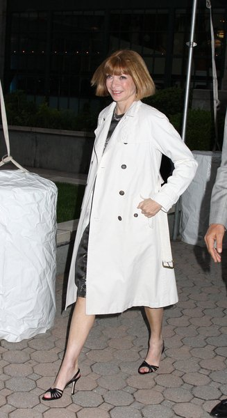 Anna Wintour at Christian Dior Cruise 2009 Collection - Gustavino's 409 East 59th Street, New York City, NY, USA