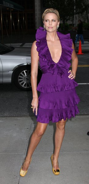 Charlize Theron at Christian Dior Cruise 2009 Collection - Gustavino's 409 East 59th Street, New York City, NY, USA