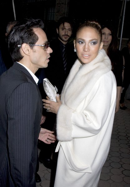 Marc Anthony, Jennifer Lopez at Christian Dior Cruise 2009 Collection - Gustavino's 409 East 59th Street, New York City, NY, USA
