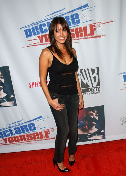 Fernanda Romero at Declare Yourself's 'Domino Effect' Hollywood Party at The Green Door, Hollywood, CA. USA