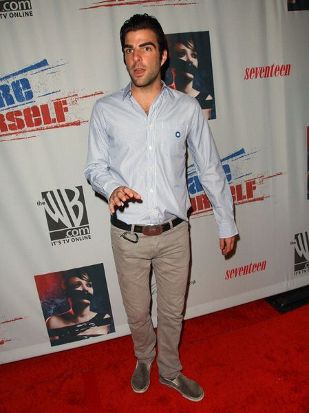 Zachary Quinto at Declare Yourself's 'Domino Effect' Hollywood Party at The Green Door, Hollywood, CA. USA