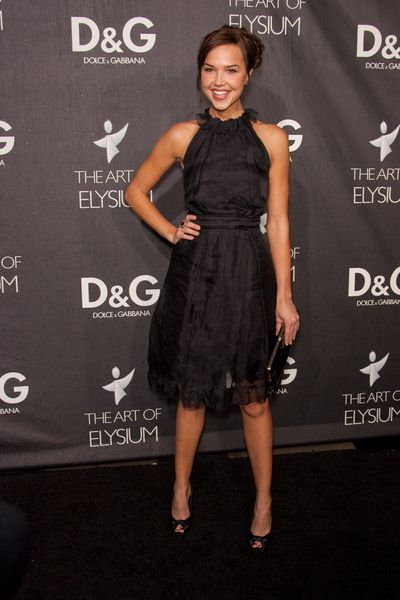 Arielle Kebel at DG Flagship Boutique Opening Benefiting The Art of Elysium at DG, Los Angeles, CA USA