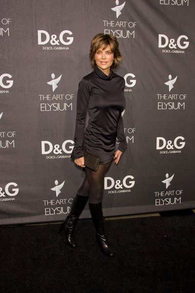 Lisa Rinna at DG Flagship Boutique Opening Benefiting The Art of Elysium at DG, Los Angeles, CA USA