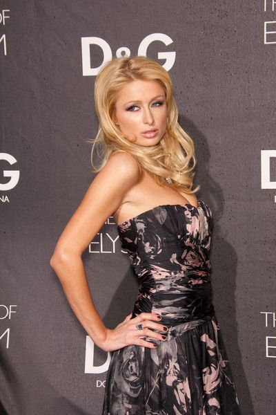 Paris Hilton at DG Flagship Boutique Opening Benefiting The Art of Elysium at DG, Los Angeles, CA USA