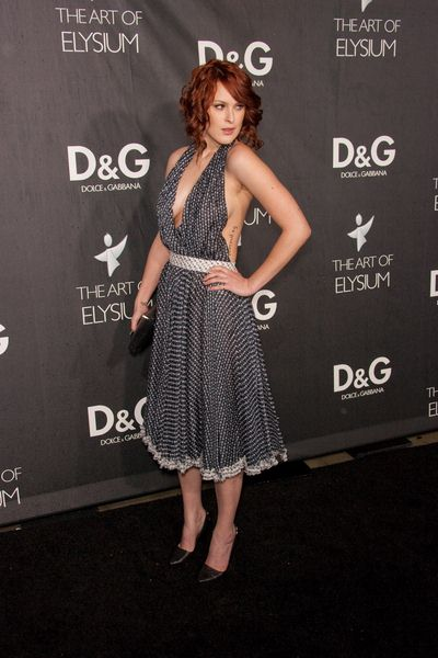 Rumer Willis at DG Flagship Boutique Opening Benefiting The Art of Elysium at DG, Los Angeles, CA USA