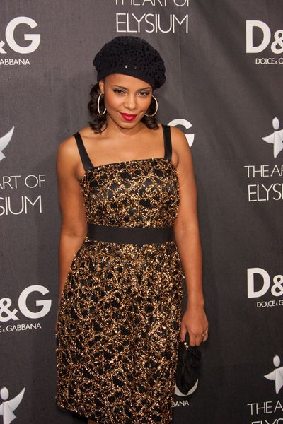 Sanaa Lathan at DG Flagship Boutique Opening Benefiting The Art of Elysium at DG, Los Angeles, CA USA