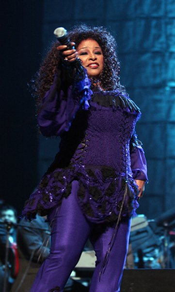 Chaka Khan at 'Divas With Heart' Concert At Radio City Music Hall in New York on May 4, 2008 - Rasio City Music Hall, New York City, NY, USA