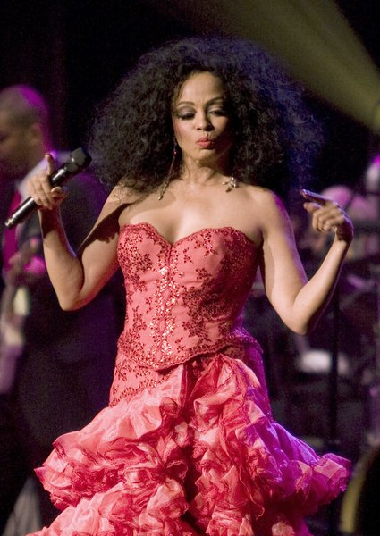 Diana Ross at 'Divas With Heart' Concert At Radio City Music Hall in New York on May 4, 2008 - Rasio City Music Hall, New York City, NY, USA