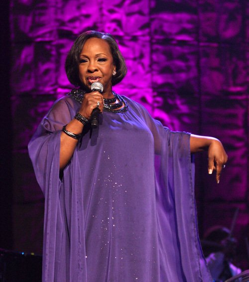 Gladys Knight at 'Divas With Heart' Concert At Radio City Music Hall in New York on May 4, 2008 - Rasio City Music Hall, New York City, NY, USA