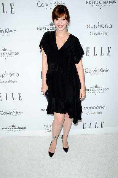 Amber Tamblyn at ELLE Magazine's 15th Annual Women in Hollywood Tribute - Arrivals at The Four Seasons Hotel, Beverly Hills, CA, USA