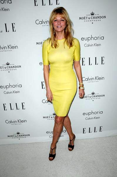 Cheryl Tiegs at ELLE Magazine's 15th Annual Women in Hollywood Tribute - Arrivals at The Four Seasons Hotel, Beverly Hills, CA, USA