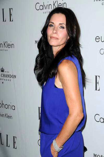 Courteney Cox Arquette at ELLE Magazine's 15th Annual Women in Hollywood Tribute - Arrivals at The Four Seasons Hotel, Beverly Hills, CA, USA