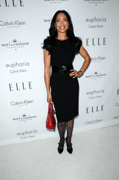Gina Torres at ELLE Magazine's 15th Annual Women in Hollywood Tribute - Arrivals at The Four Seasons Hotel, Beverly Hills, CA, USA