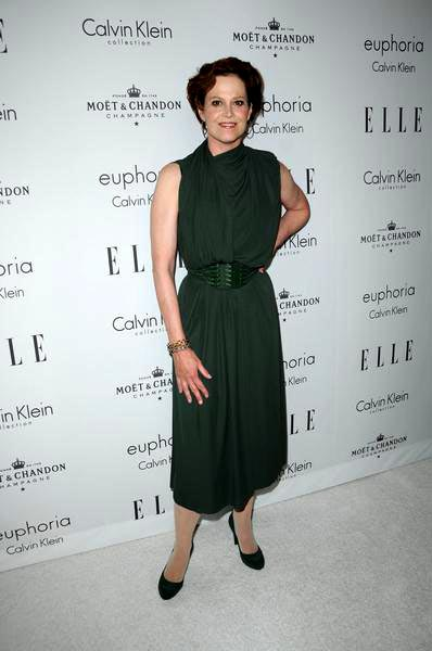 Sigourney Weaver at ELLE Magazine's 15th Annual Women in Hollywood Tribute - Arrivals at The Four Seasons Hotel, Beverly Hills, CA, USA