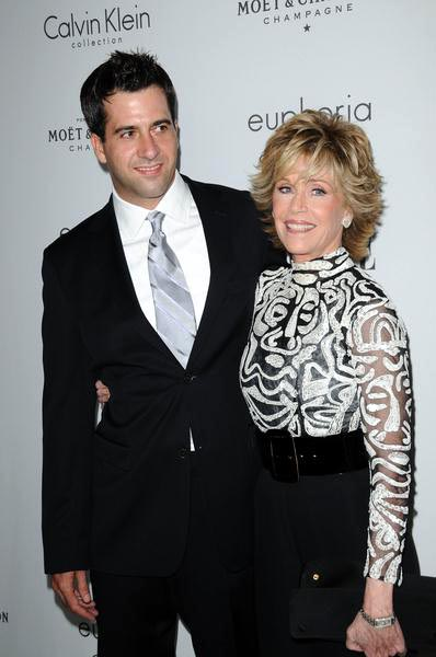 Troy Garity, Jane Fonda at ELLE Magazine's 15th Annual Women in Hollywood Tribute - Arrivals at The Four Seasons Hotel, Beverly Hills, CA, USA