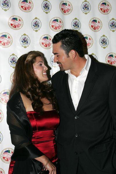 Adrian Gonzalez, Wife at Evening With The Stars 2008 Party to benefit the Mother Goose Parade Association and it's ongoing educational Young Ambassadors program at W Hotel in San Diego, CA, USA
