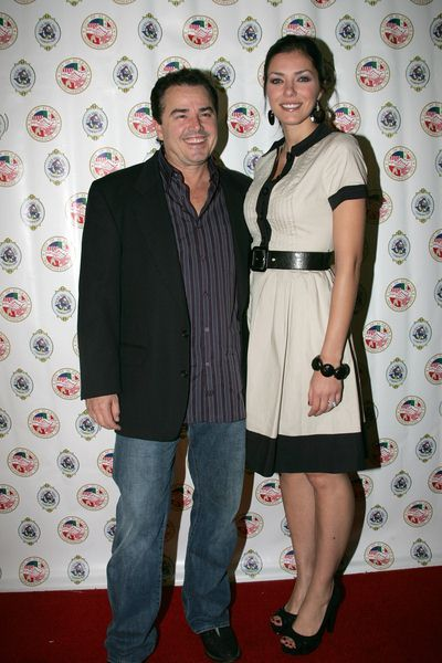 Christopher Knight, Adrianne Curry at Evening With The Stars 2008 Party to benefit the Mother Goose Parade Association and it's ongoing educational Young Ambassadors program at W Hotel in San Diego, CA, USA