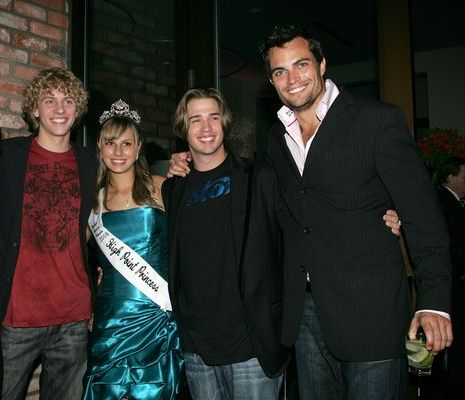 Matthew Underwood, Michael Peterson, Scott Elrod at Evening With The Stars 2008 Party to benefit the Mother Goose Parade Association and it's ongoing educational Young Ambassadors program at W Hotel in San Diego, CA, USA