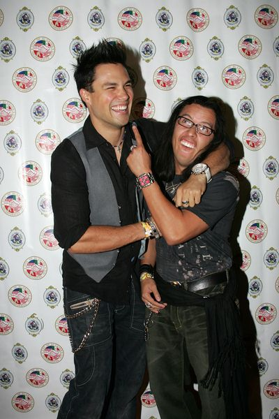 Michael Copon, Efron Ramirez at Evening With The Stars 2008 Party to benefit the Mother Goose Parade Association and it's ongoing educational Young Ambassadors program at W Hotel in San Diego, CA, USA