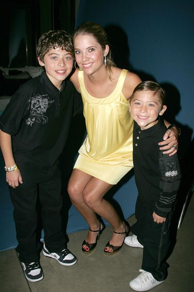 Ryan Ochoa, Ashley Benson, Raymond Ochoa at Evening With The Stars 2008 Party to benefit the Mother Goose Parade Association and it's ongoing educational Young Ambassadors program at W Hotel in San Diego, CA, USA